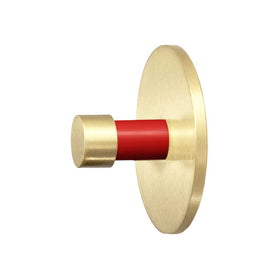 brass and red  bae knob dutton brown cabinet hardware _hover