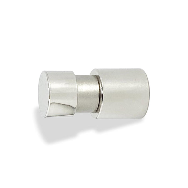 beau knob hardware polished nickel by Dutton Brown.