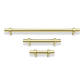 brass Caliber pull cabinet hardware Dutton Brown