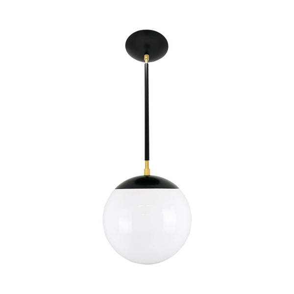 hanging lights cap globe pendant 10 inch black brass kitchen island lighting mid century modern ceiling lighting