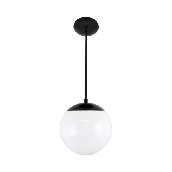hanging lights cap globe pendant 10 inch black kitchen island lighting mid century modern ceiling lighting