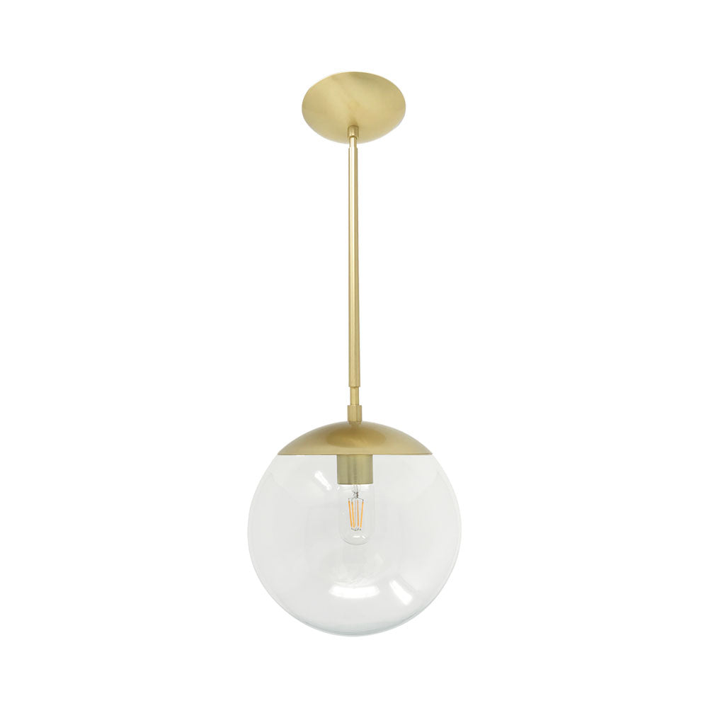 hanging lights cap globe pendant 10 inch brass kitchen island lighting mid century modern ceiling lighting