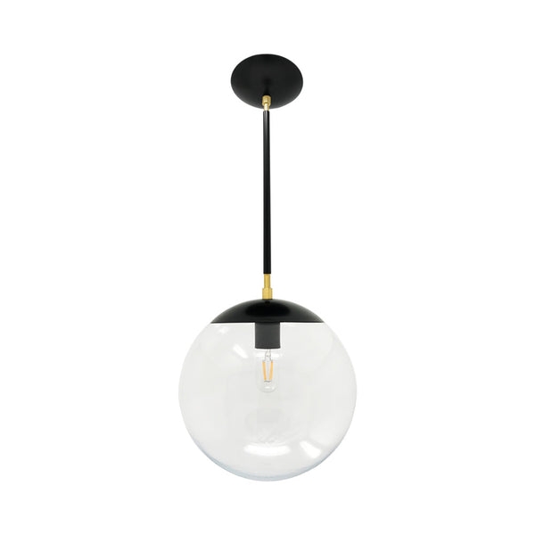 hanging lights cap globe pendant 12 inch black brass kitchen island lighting mid century modern ceiling lighting