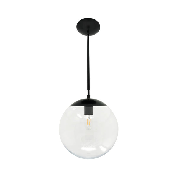 hanging lights cap globe pendant 12 inch black kitchen island lighting mid century modern ceiling lighting
