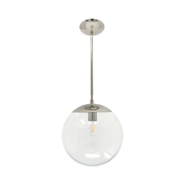 hanging lights cap globe pendant 12 inch nickel kitchen island lighting mid century modern ceiling lighting _hover