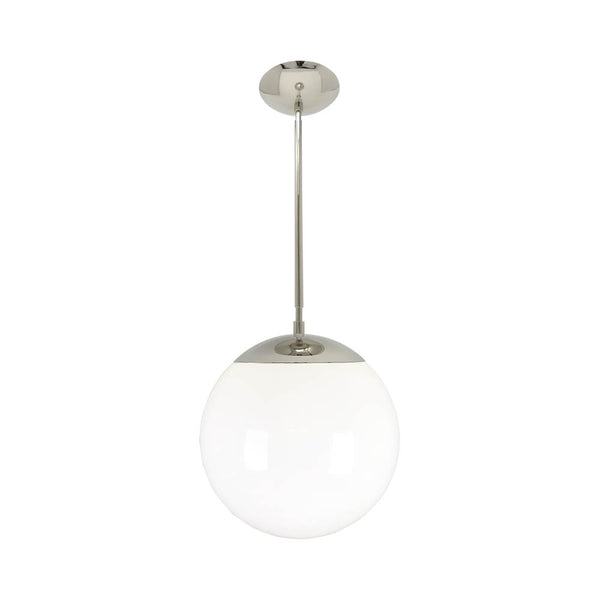 hanging lights cap globe pendant 12 inch nickel kitchen island lighting mid century modern ceiling lighting