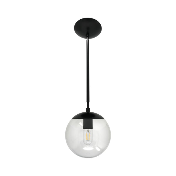 hanging lights cap globe pendant 8 inch black kitchen island lighting mid century modern ceiling lighting