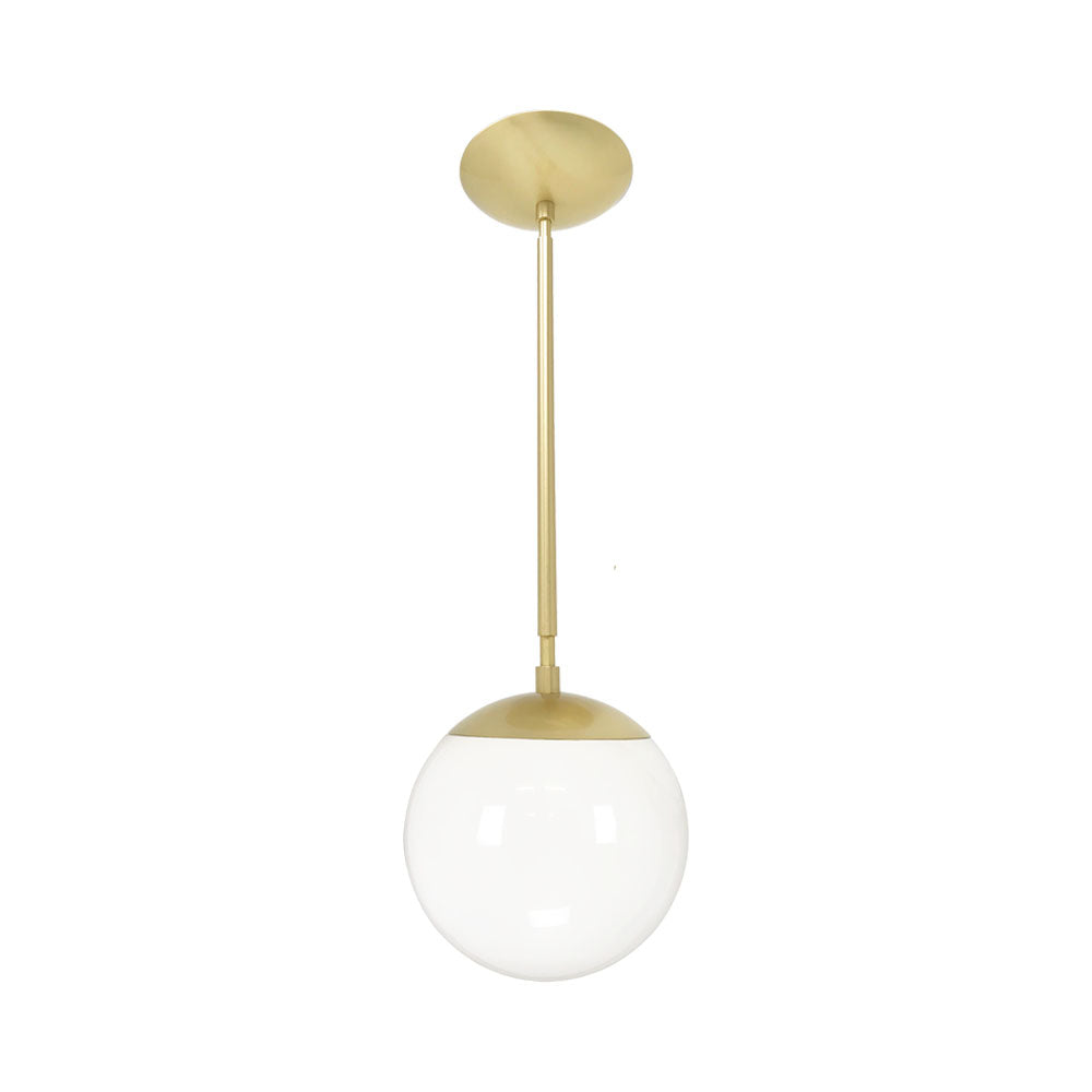 brass globe pendant light. Hanging Lights Cap Globe Pendant 8 Inch Brass Kitchen Island Lighting Mid Century Modern Ceiling Light |