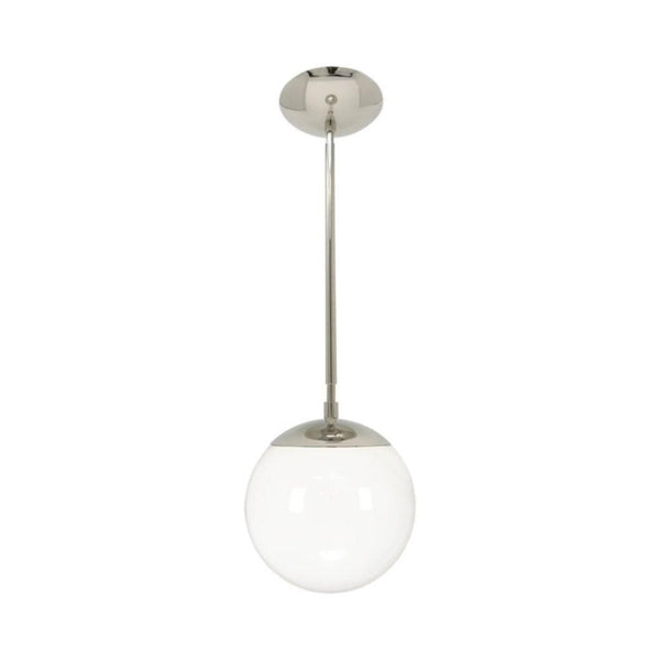 hanging lights cap globe pendant 8 inch nickel kitchen island lighting mid century modern ceiling lighting