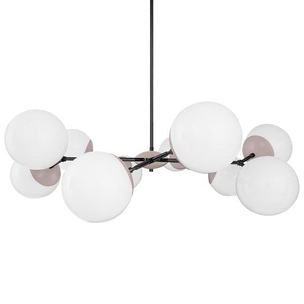 black blush crown globe chandelier 46 inch dutton brown lighting _hover