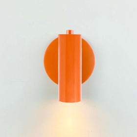 orange display wall sconce accent lighting office hallway lighting by Dutton Brown. _hover