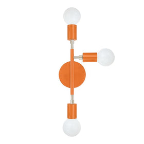 nickel orange elite right wall sconce dutton brown lighting _hover