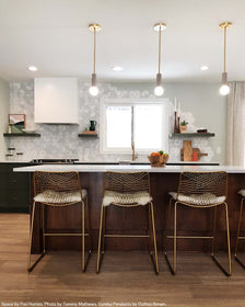 Eureka pendant brass barely lighting by dutton brown. space by fox homes. photo by tommy mathews. _hover