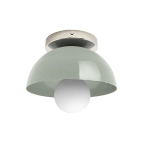spa hemi dome wall sconce 8 inch dutton brown lighting mid century modern