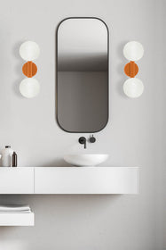 icon 2 globe sconce bathroom vanity lighting by Dutton Brown. _hover