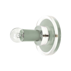 Spa lepore acrylic wall sconce dutton brown lighting