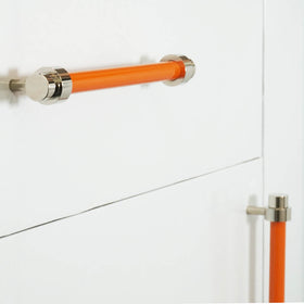 nickel orange persona pull cabinet hardware Dutton Brown _hover