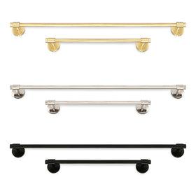 Persona towel Bar bathroom hardware Dutton Brown _hover