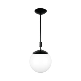 black pop globe pendant 10'' dutton brown lighting _hover