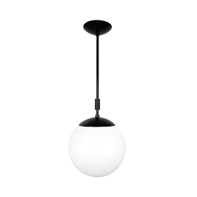 black pop globe pendant 12'' dutton brown lighting