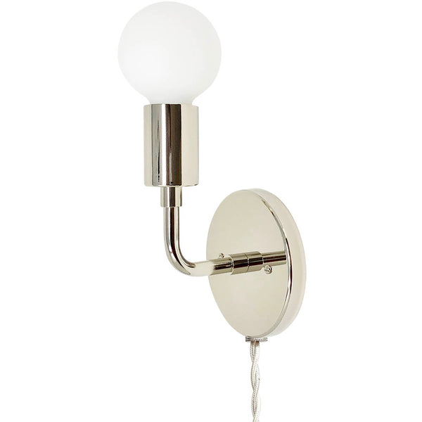 nickel snug plug in wall sconce dutton brown lighting