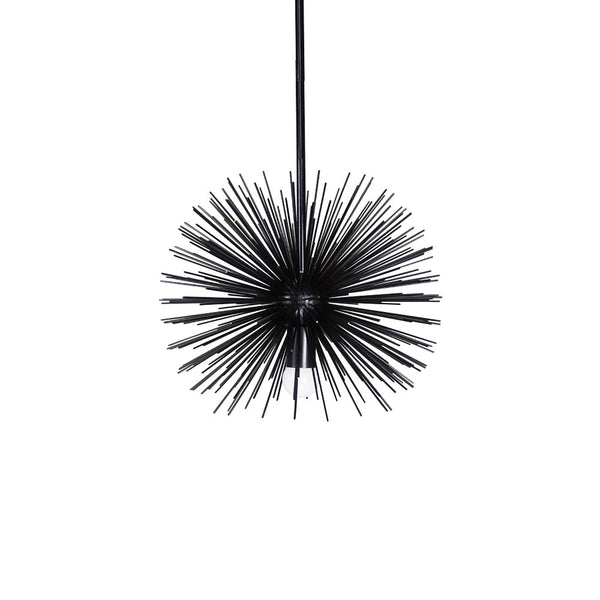 black urchin pendant chandelier lighting 15""