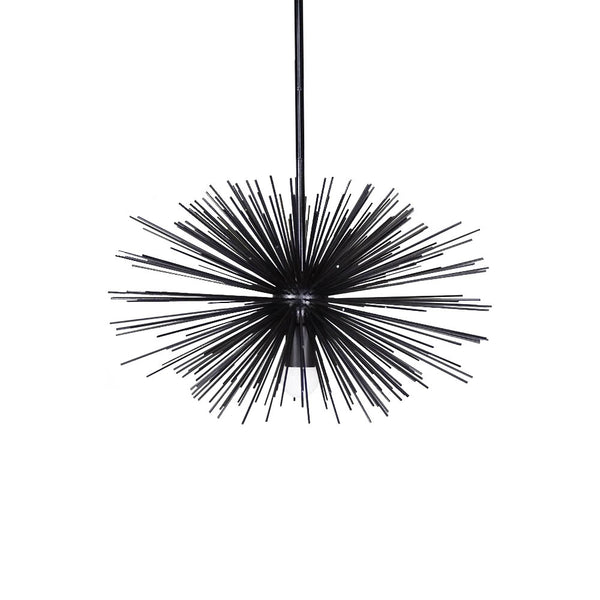 black urchin pendant chandelier lighting 20""