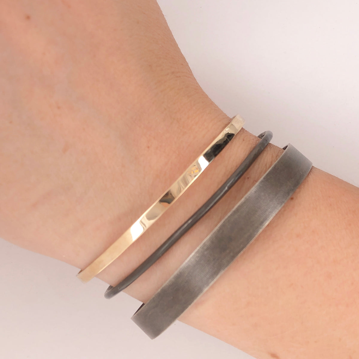 Black and Gold Bangles