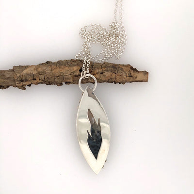 Australian Dendritic Opal Necklace