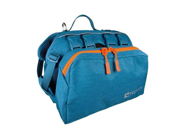 RC Quest Day Pack Heather Teal - Discover Dogs Inc