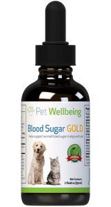 PW Blood Sugar Gold - Discover Dogs Inc