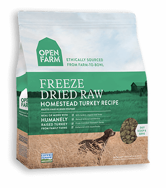 Open Farm FD Turkey 13.5oz - Discover Dogs Inc