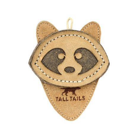 Tall Tails Leather Wool Raccoon - Discover Dogs Inc