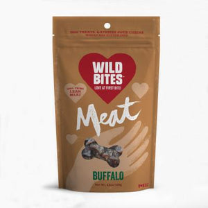 Wild Bites Buffalo 120g - Discover Dogs Inc