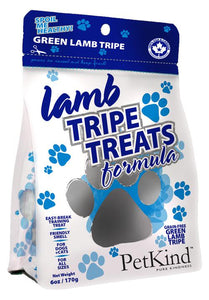 Petkind Lamb Tripe Treats 170g - Discover Dogs Inc