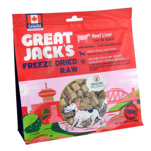 Great Jack's Freeze Dried 14oz - Discover Dogs Inc