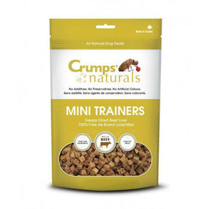 Crumps Mini Trainers Freeze Dried Beef 105g - Discover Dogs Inc