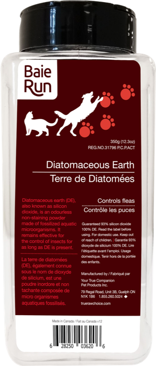 BaieRun Diatomaceous Earth - Discover Dogs Inc