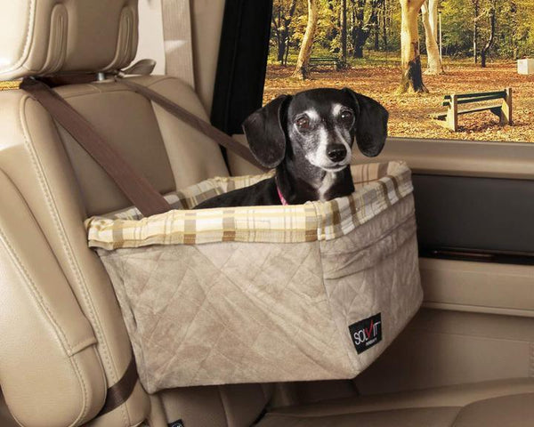 Solvit Tagalong Booster Seat Deluxe - Discover Dogs Inc