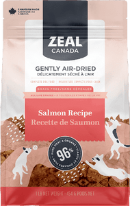 Zeal Air Dried Salmon Recipe - Discover Dogs Inc