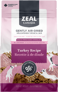 Zeal Air Dried Turkey Recipe - Discover Dogs Inc