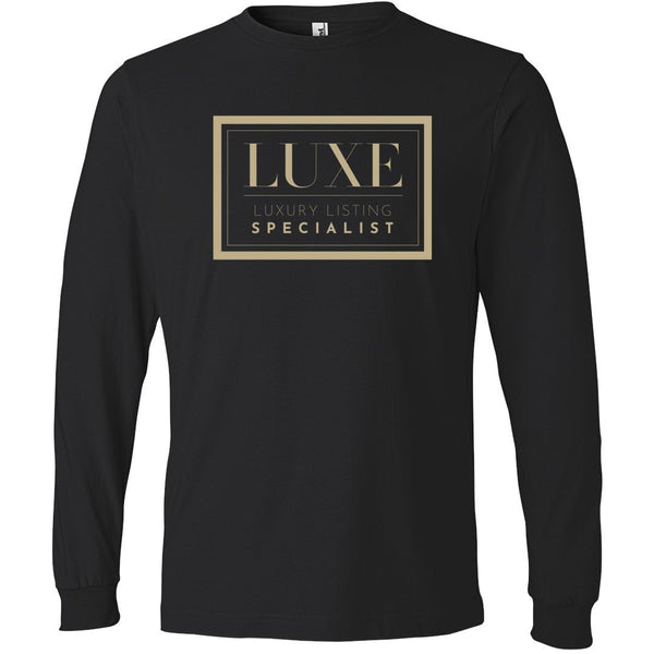 Gold Luxe Logo - Long Sleeve Men's T-Shirt