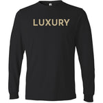 Gold Luxury - Long Sleeve Men's T-Shirt