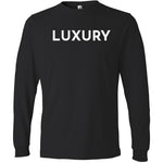 White Luxury - Long Sleeve Men's T-Shirt