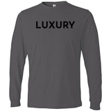 Black Luxury - Long Sleeve Men's T-Shirt