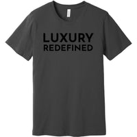 Black Luxury Redefined - Short Sleeve Men's T-Shirt