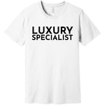 Black Luxury Specialist - Short Sleeve Men's T-Shirt