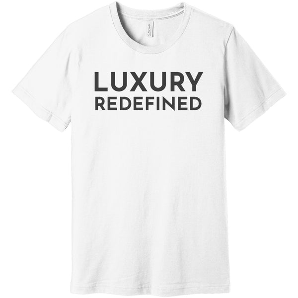 Charcoal Luxury Redefined - Short Sleeve Men's T-Shirt