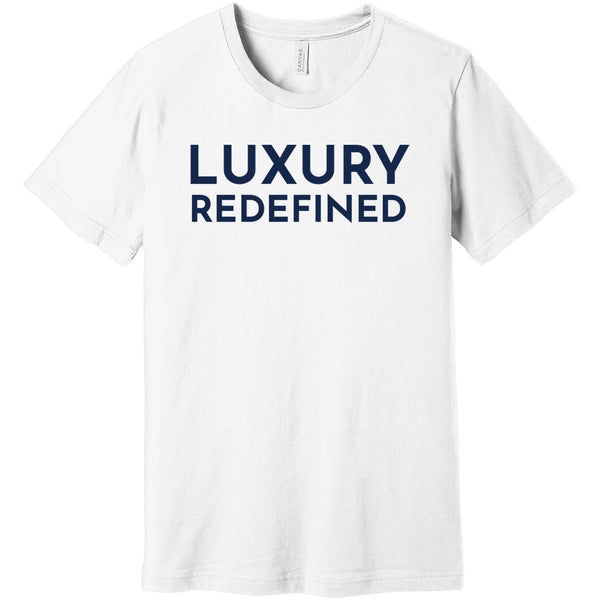 Navy Luxury Redefined - Short Sleeve Men's T-Shirt