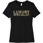 Gold Luxury Specialist - Short Sleeve Women's T-Shirt